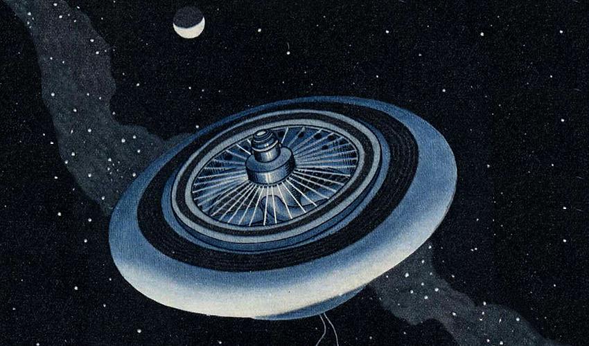 Герман Поточник (Ноордунг), 92 года назад нарисовавший колонизацию космоса