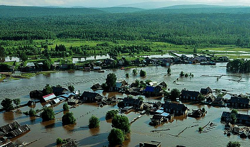 Почему разливаются реки